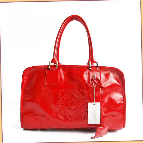 Loewe Amazona Bag_Red_Patent Leather_D141