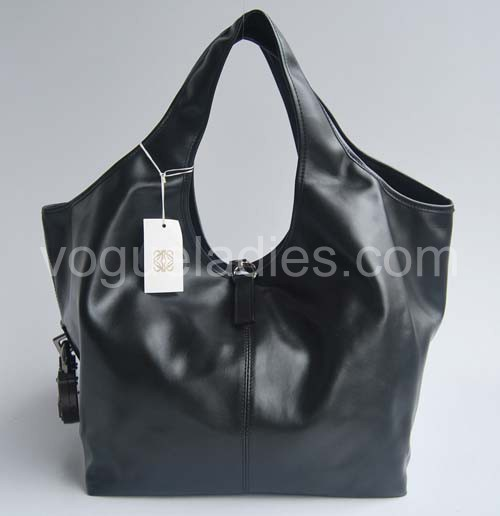 Loewe Calle Bag_Black Leather_20205