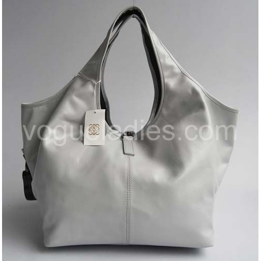 Loewe Calle Bag_Grey Leather_20205