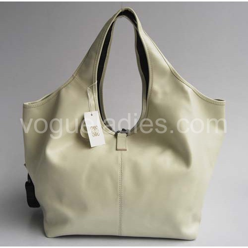 Loewe Calle Bag_Cream Leather_20205
