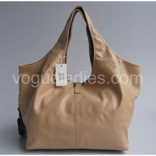 Loewe Calle Bag_Apricot Leather_20205