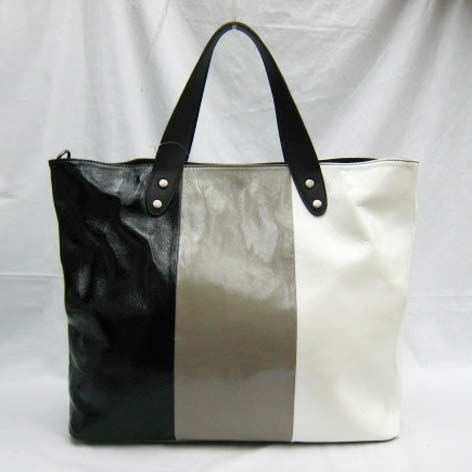 Marni New Bag_Black,Grey and White_Real Leather_5023S
