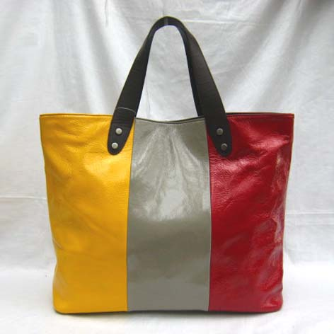 Marni New Bag_Yellow,Grey and Red_Real Leather_5023S