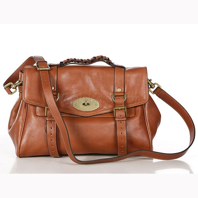 Mulberry Alexa Chung Bag in Light Coffee