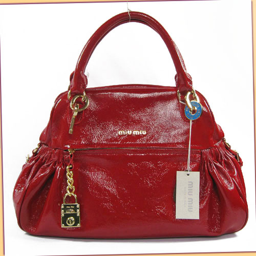 Miu Miu Nappa Charm Bag_Red Leather_68028