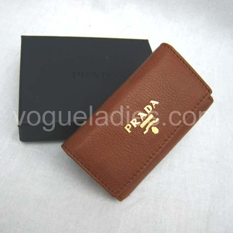 Prada Wallet_Light Earth Yellow Leather_1M0222