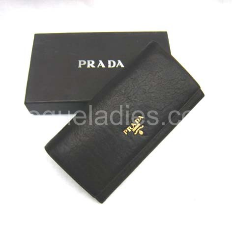 Prada Wallet_Coffee Leather_514