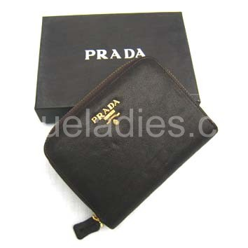 Prada Wallet_Coffee Leather_805